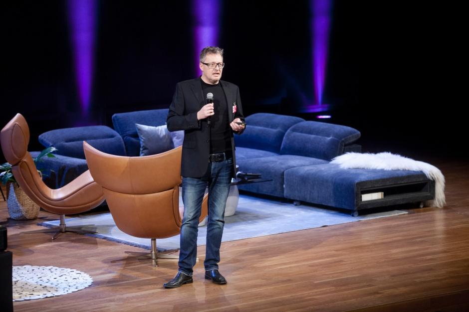 Forum Dobrego Designu, 7 grudnia 2016. Wykład Henrika Pedersena, gościa specjalnego.  Fot. Paweł Pawłowski