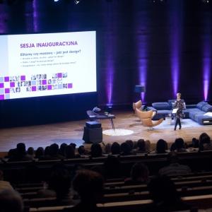 Sesja inauguracyjna Forum Dobrego Designu odbyła się pod hasłem przewodnim: Elitarny czy masowy - jaki jest design? Fot.  Paweł Pawłowski, Piotr Waniorek