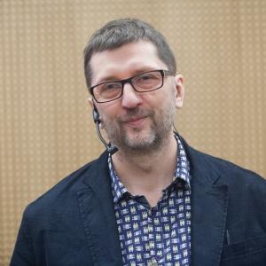 Architekt Rafał Ślęk, przedstawiciel WSC Graphisoft Center Poland, opowiedział o nowych technologiach i nowym podejściu do projektowania i designu w erze wszechobecnej cyfryzacji. Fot. Paweł Pawłowski.