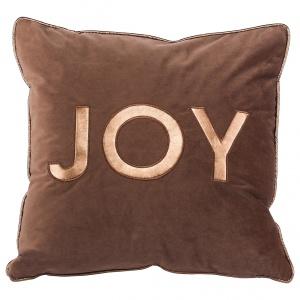 Elegancka poduszka JOY w kolorach miedzi i głębokiego brązu to ocieplą wnętrze. 119 zł/2 szt. i 89 zł/szt. Fot. Westwing