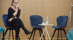 O najnowszych trendach i badaniu potrzeb użytkowników biur podczas Forum Dobrego Designuopowiadała Małgorzata Konikiewicz z firmy Kinnarps.