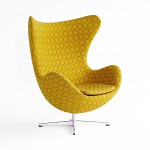 Fotel EGG to klasyk projektu Arne Jacobsena. Znany na całym świecie mebel dostępny jest w wielu pięknych wykończeniach, dzięki czemu idealnie dopasuje się do każdego wnętrza. Ok. 20.000 zł. Fot. Fritz Hansen