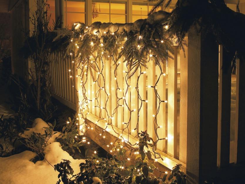 Zasłona świetlna LED. Fot. Materiały prasowe Jula