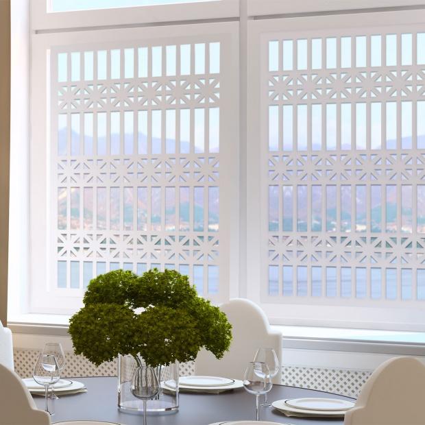 Ażurowe panele - pomysł na dekorację ścian i okien