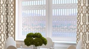 Ażurowe panele to zupełnie nowy pomysł dekorowania ścian, okien czy kreowania zjawiskowych luster.