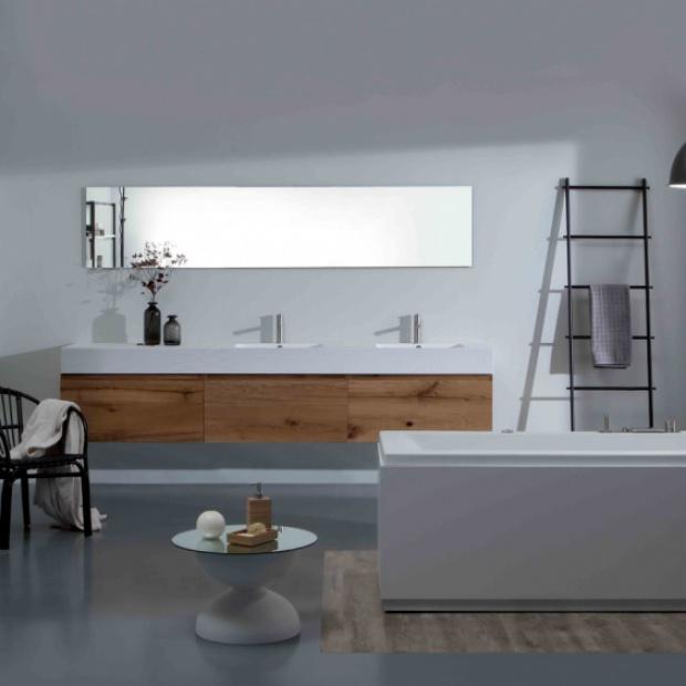 Łazienka w stylu skandynawskim: zobacz co proponują producenci