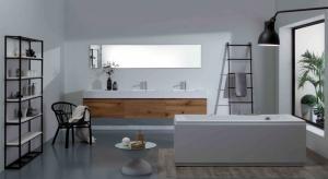 Prostota, funkcjonalność, drewno i biel - wystarczy wziąć te cztery elementy składowe, przyprawić je gustownymi dodatkami i mamy przepis na łazienkę w stylu skandynawskim.