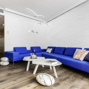 Wnętrze w Sea Towers, projekt: Paulina Kasprowicz, meinDESIGN. Fot. Studio Mohito