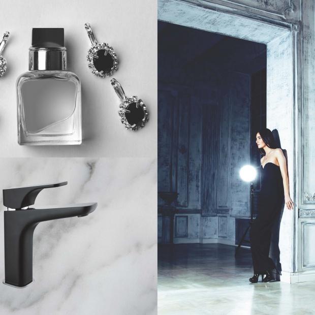 Kolekcja baterii łazienkowych w stylu american glamour