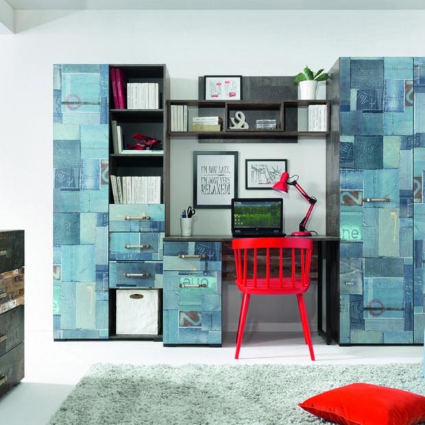 Meble do pokoju nastolatka - nowa kolekcja w stylu industrialnym