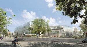 W październiku 2017 r., z chwilą ukończenia inwestycji, Wrocław otrzyma wyjątkowy pod względem architektonicznym, nowoczesny i wielofunkcyjny obiekt. Projekt architektoniczny Wroclavii powstał na deskach pracowni IMB Asymetria.