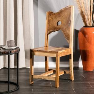 Krzesło Teak Wood. Fot. Dekoria.pl