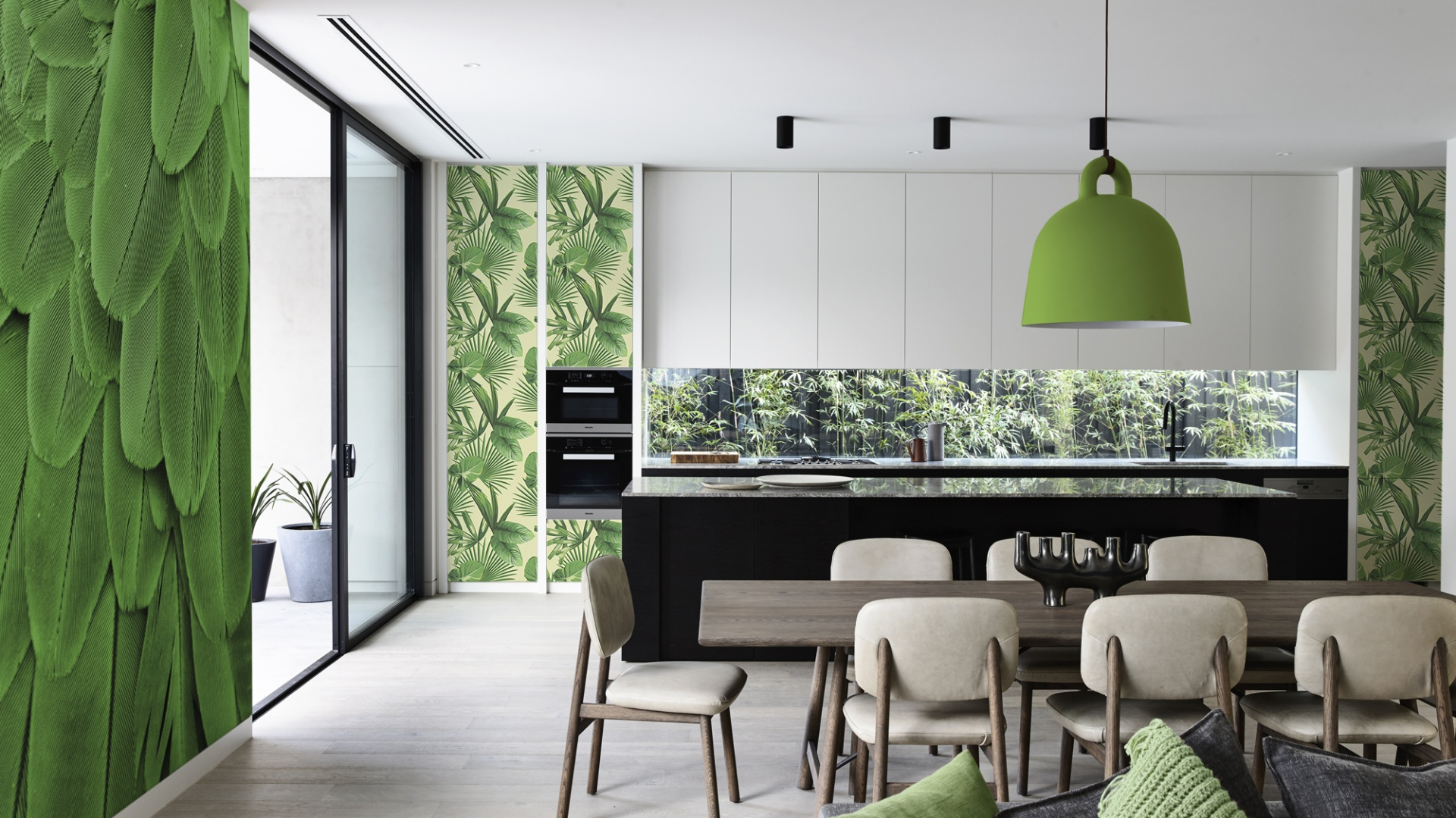 Greenery – kolor 2017 roku według Instytutu Pantone. Fot. Pixers