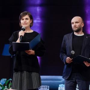 Z ramienia PTWP gości przywitali: Małgorzata Burzec-Lewandowska i Robert Posytek. Fot. Paweł Pawłowski/PTWP.