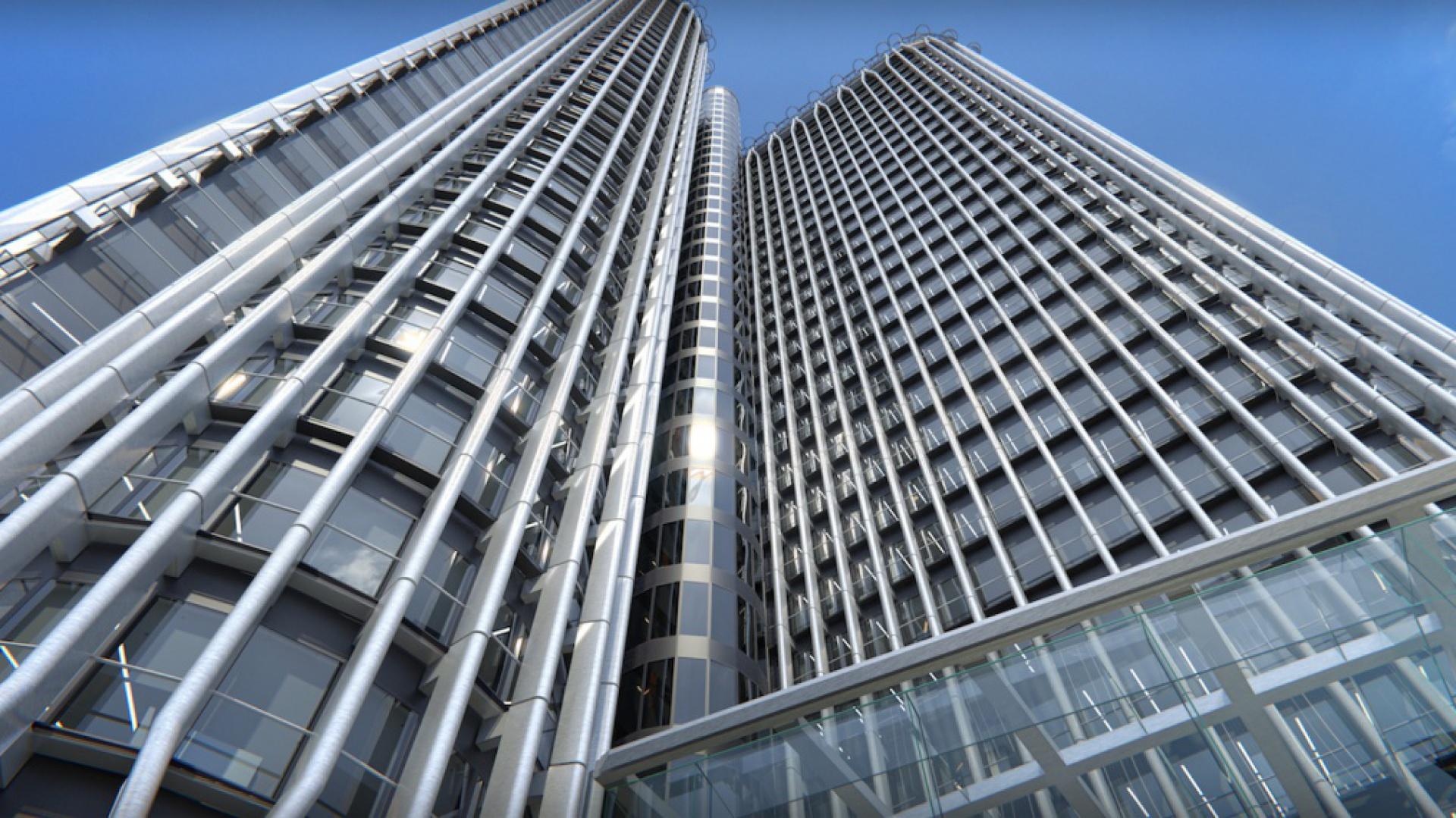 Torre Europa fot. materiały prasowe Philips Lighting