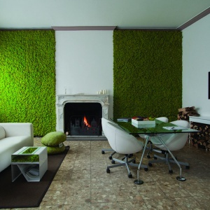 Greenery – kolor 2017 roku według Instytutu Pantone. Fot. Galeria Heban