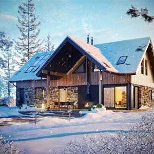 Dom dla rodziny: zimą projekt, wiosną budowa