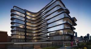 Budynek 520 West 28th Street zdobył nagrodę najlepszego projektu oddanego do użytku w 2016 roku przyznawaną przez 6sqft. To dzieło pracowni Zaha Hadid Architects.