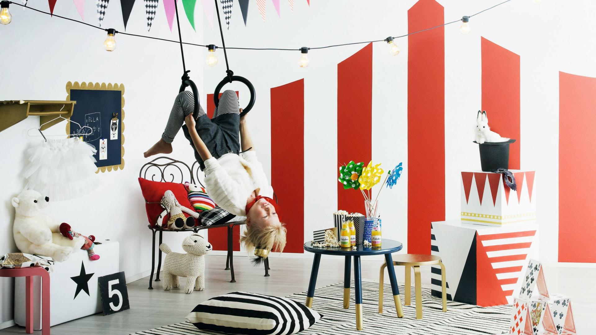 Kolekcja farb TIKKURILA KIDS STYLE w palecie 24 kolorów zapewniają niemal nieograniczone możliwości aranżacji pokoju dziecka. Fot. Tikkurila