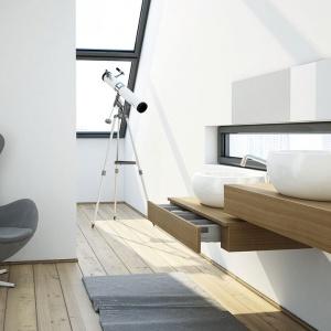 Konsole pod umywalkę o wys. 25 cm nadają niepowtarzalny charakter każdej łazience.