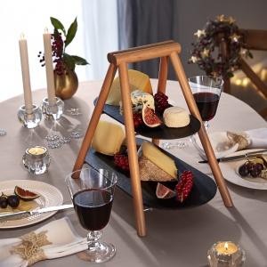 Sylwestrowa dekoracja stołu. Fot. Tchibo