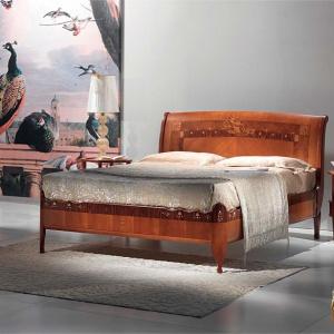 Łóżko Cornucopia marki Carpanelli. Fot. Carpanelli / Galeria Heban