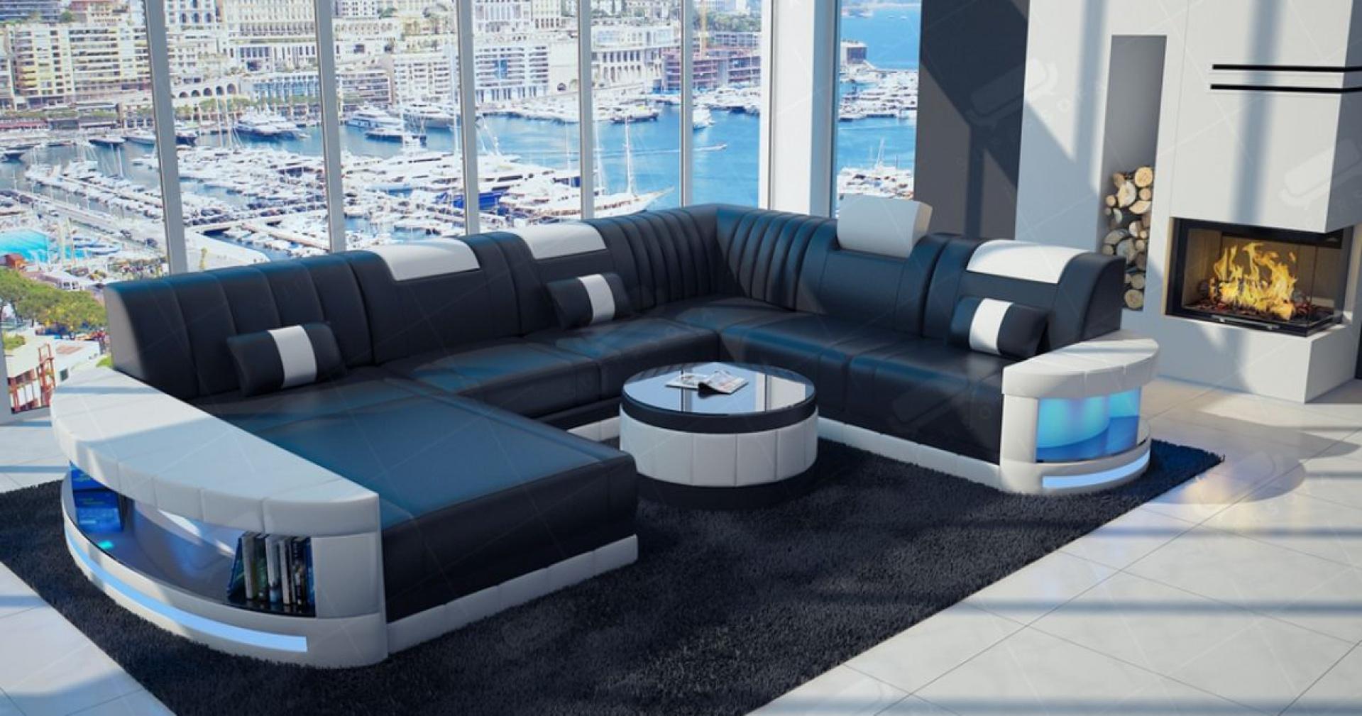 Wygodny salon w nowoczesnym stylu. Fot. Super-Sofa