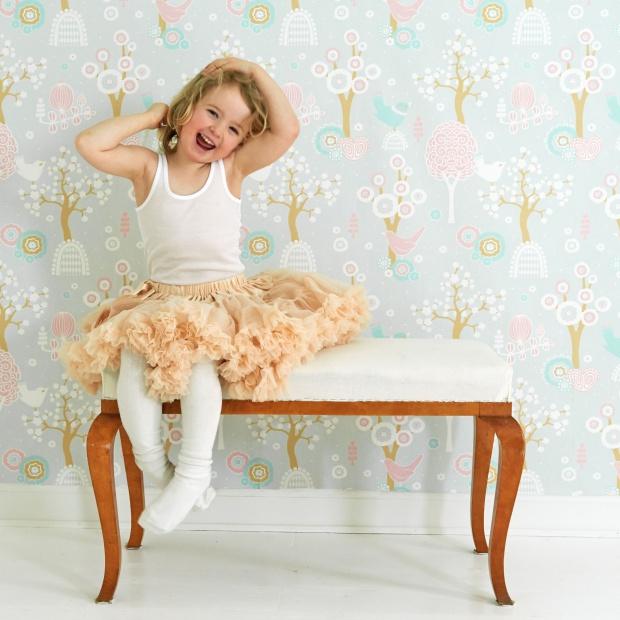 Pokój dziecka - tapety z baśniowymi wzorami