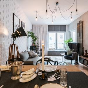 Loftowy apartament w trzech odsłonach