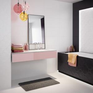 Nowości do łazienki: płytki ze strukturą
