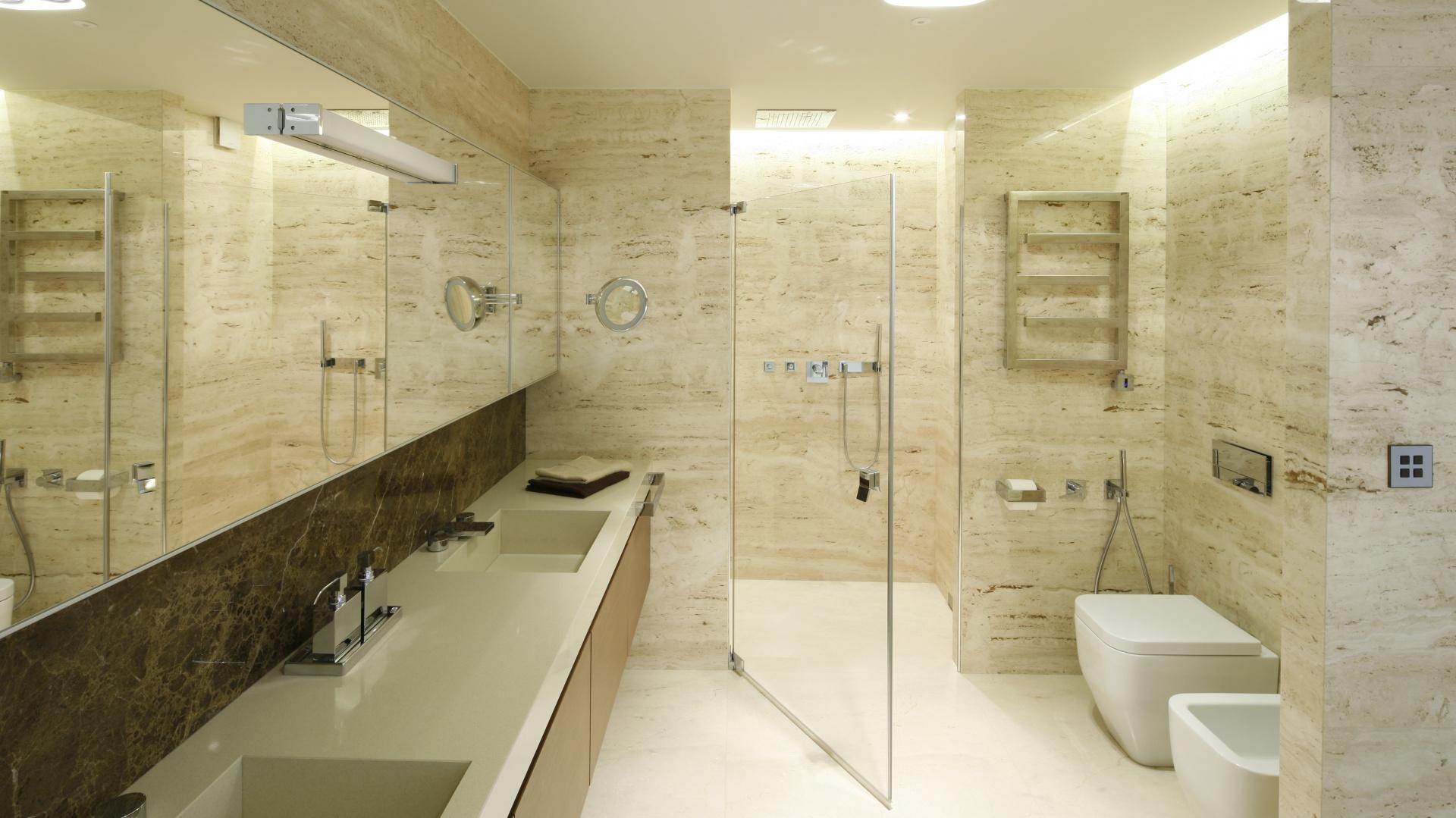 Najpiękniejsze łazienki 2016 roku. Projekt: Anna Fodemska. Fot. Bartosz Jarosz