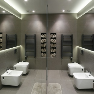 Najpiękniejsze łazienki 2016 roku. Projekt: Monika i Adam Bronikowscy. Fot. Bartosz Jarosz