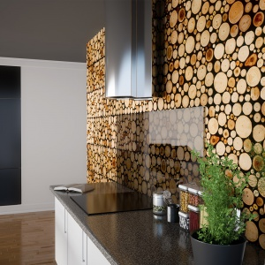 Panele drewniane z kolekcji Wood Collection. Fot. Stegu