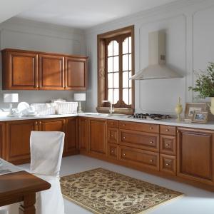Meble kuchenne z kolekcji Senso Kitchen - Royal, model Ambris, dostępne w ofercie sieci Black Red White. Fot. Black Red White