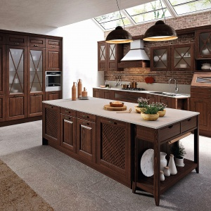 Meble kuchenne Bellagio dostępne w ofercie firmy Aran Cucine. Fot. Aran Cucine