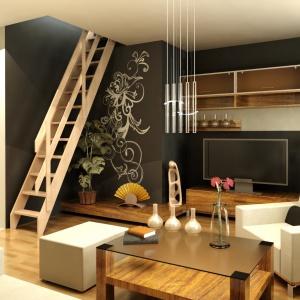 Małe mieszkanie - jak dopasować schody