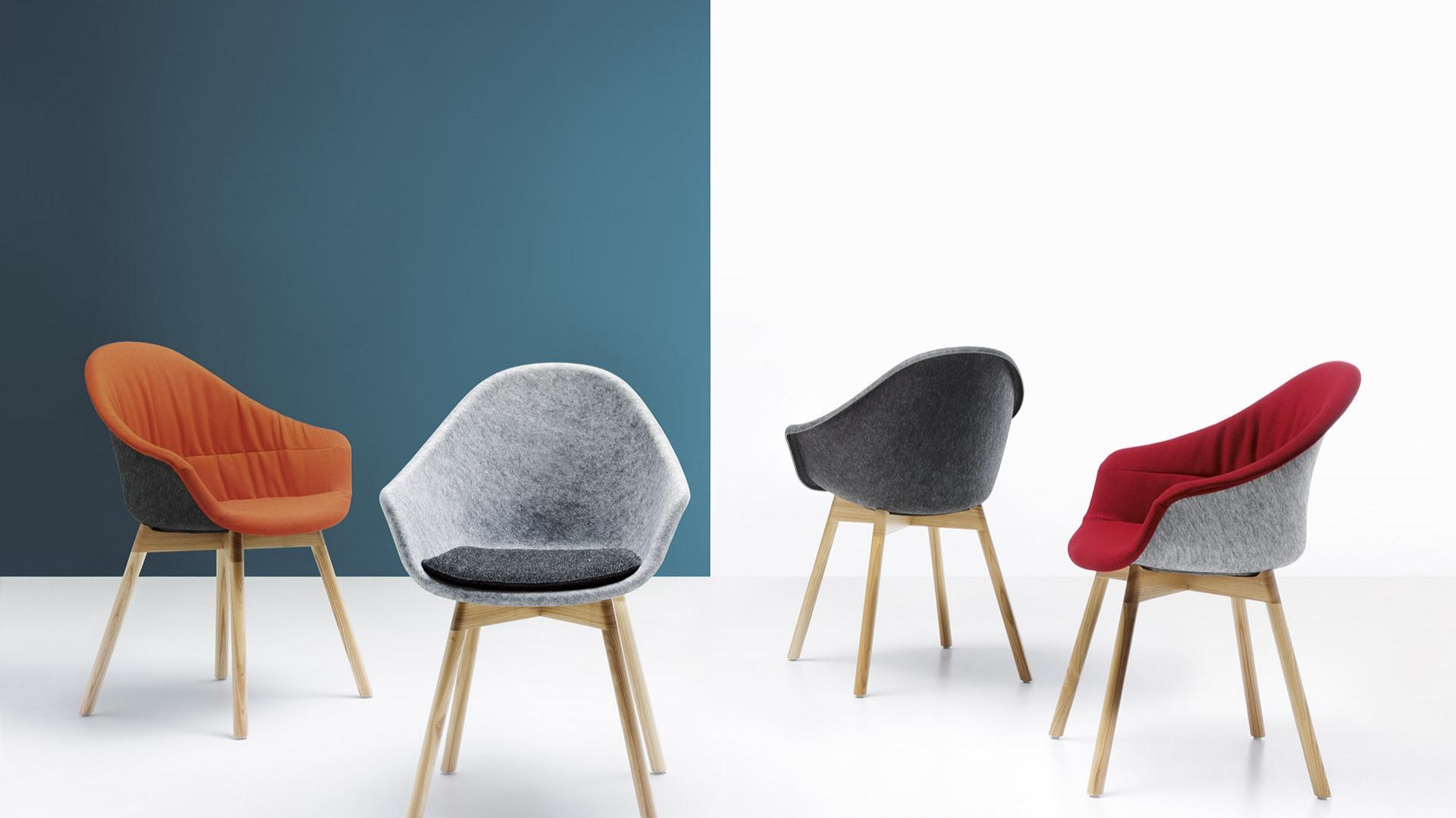 Krzesła Mamu - nowość marki Noti