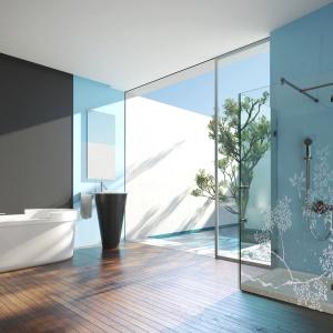 Szkło lakierowane marki Colorimo. Fot. Mochnik