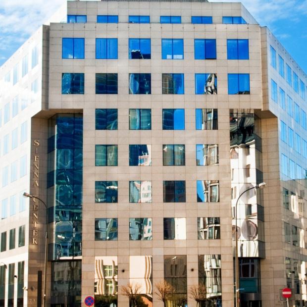 Biurowiec Sienna Center po modernizacji