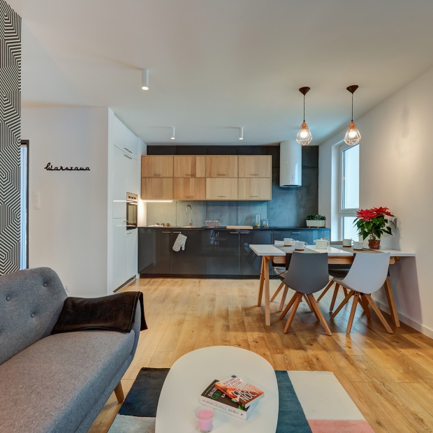 Mieszkanie pokazowe: trzy pokoje na 53 metrach