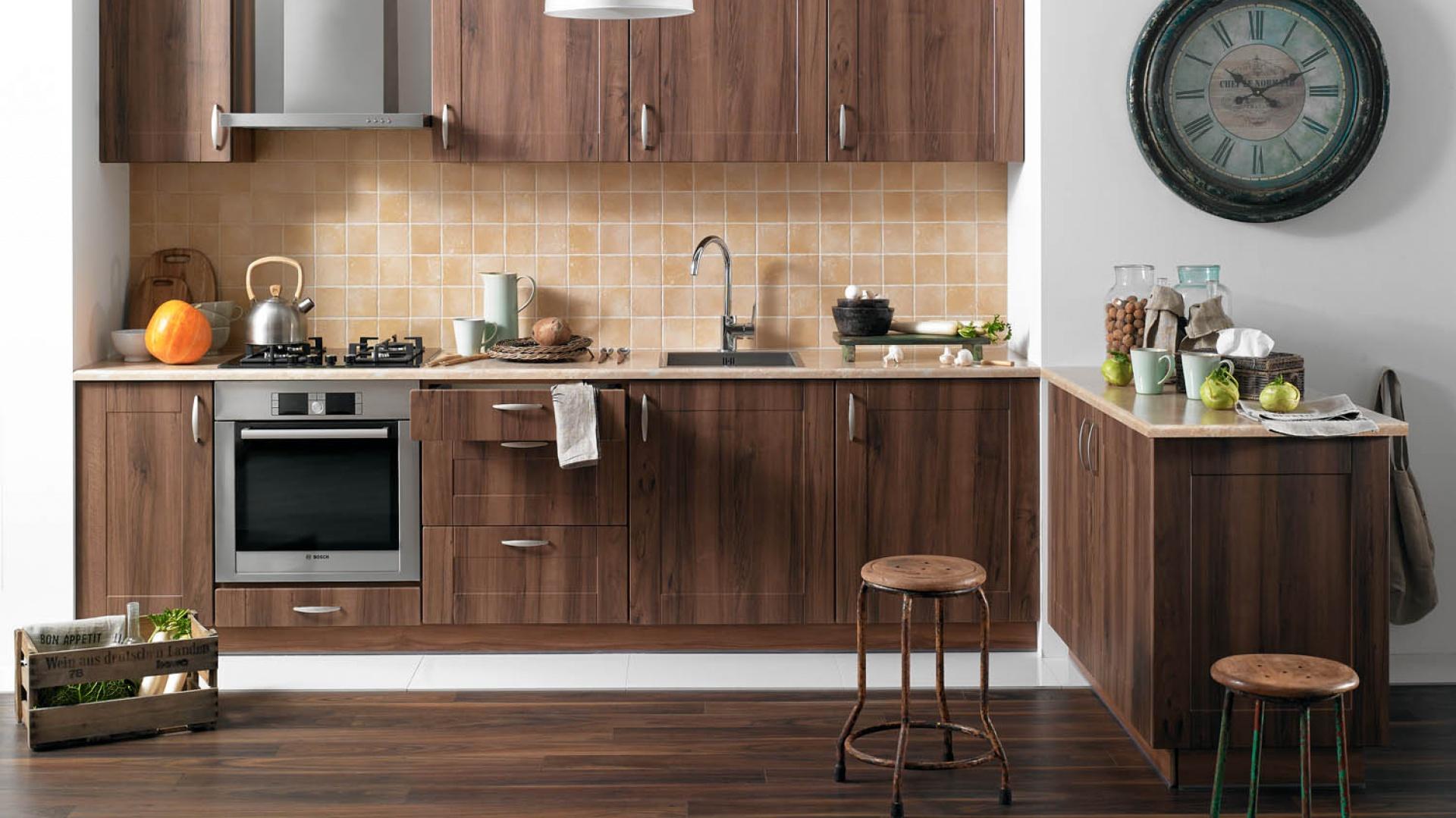 meble kuchenne do kupienia modna br�zowa kuchnia 15