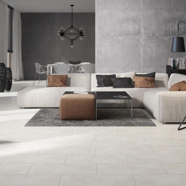Szare płytki - idealne do minimalistycznych wnętrz