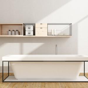 Grzejnik łazienkowy SISI łączy nowoczesne wzornictwo z dodatkowymi funkcjami: możliwość zawieszania ręczników bez dodatkowych akcesoriów. Fot. Instal-Projekt