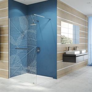 Modna łazienka: nowe kabiny prysznicowe walk-in