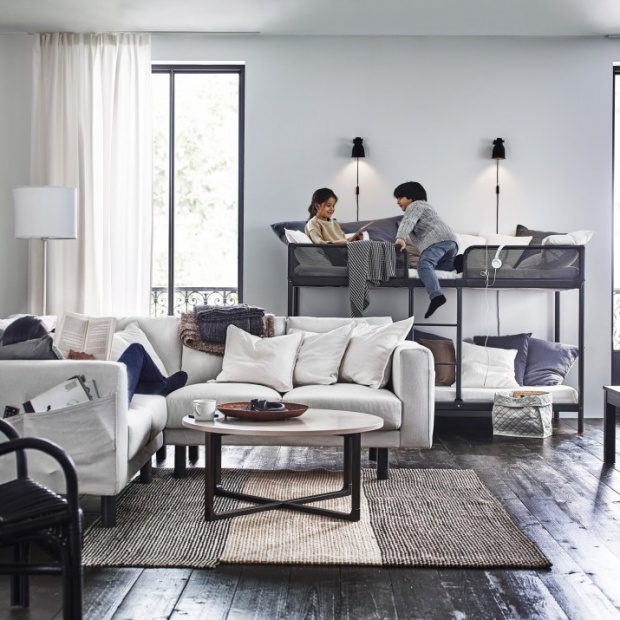 10 pomysłów na przytulny salon