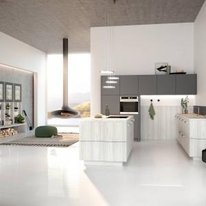 Meble kuchenne ALVA to doskonałe rozwiązanie do przestrzeni dziennej urządzone w nowoczesnym stylu. Fot. Wellmann