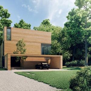 Dom Yenga to mały, ale przestronny budynek. Powierzchnia parteru wynosi jedynie 80 mkw., a piętra około 75 mkw. Fot. 81.waw.pl