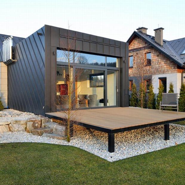 Dom jednoosobowy. Zobacz jak wygodnie mieszkać na 40 metrach