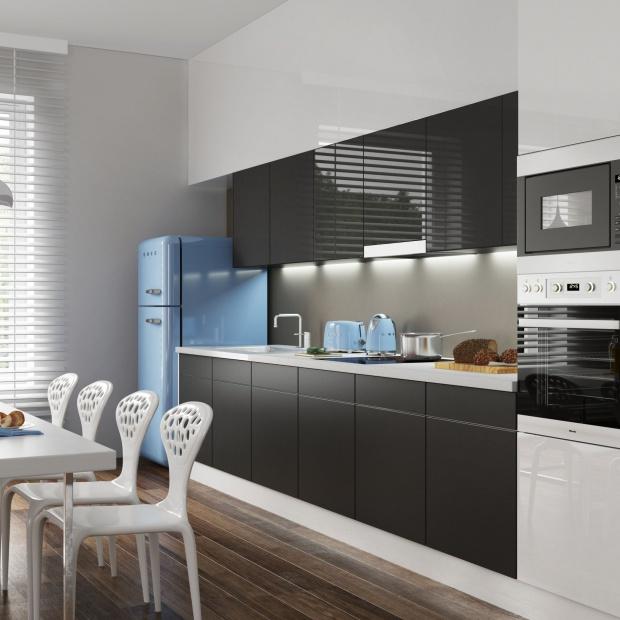 Modna kuchnia: 3 pomysły na ścianę nad blatem