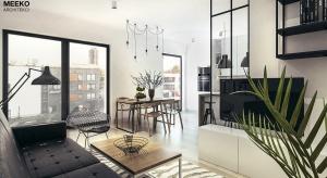 Założeniem projektowym było wykreowanie przestrzeni utrzymanej w duchu industrialnym przy zachowaniu przytulnych akcentów domowej enklawy. Klimat wnętrz tworzą surowe materiały takie jak stara cegła, szkło, metal, beton, graficzne zestawienie bel